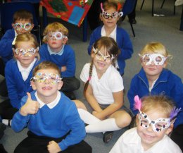 Class 2 and their Magical Glasses